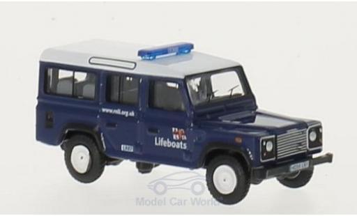 Land Rover Defender 1/76 Oxford Station Wagon RHD RNLI miniature