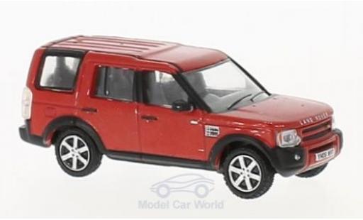 Land Rover Discovery 1/76 Oxford 3 métallisé rouge miniature