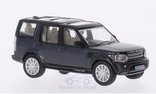 Land Rover Discovery 1/76 Oxford 4 metallic-dunkelbleue RHD miniature