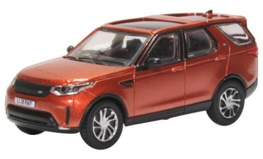 Land Rover Discovery 1/76 Oxford 5 metallise orange RHD miniature