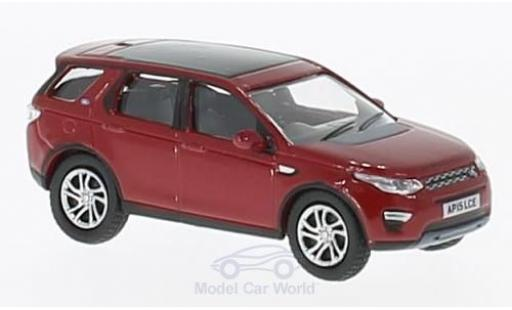 Land Rover Discovery 1/76 Oxford Sport rouge miniature
