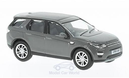 Land Rover Discovery 1/76 Oxford Sport grise RHD miniature