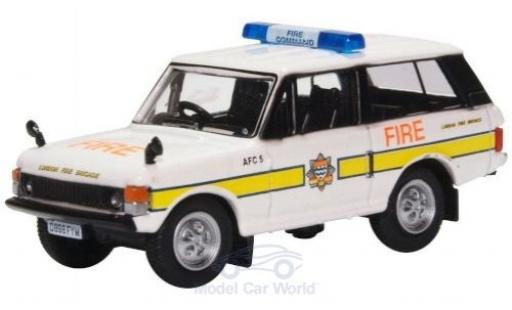 Land Rover Range Rover 1/76 Oxford Classic London Fire Brigade miniature