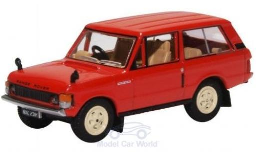 Land Rover Range Rover 1/76 Oxford Classic rouge miniature