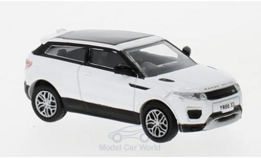 Land Rover Range Rover 1/76 Oxford Evoque Coupe (Facelift) blanche miniature