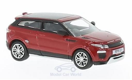 Land Rover Range Rover 1/76 Oxford Evoque Coupe rouge RHD miniature