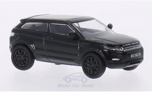 Land Rover Range Rover 1/76 Oxford Evoque metallise noire RHD miniature