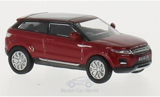 Land Rover Range Rover 1/76 Oxford Evoque rouge RHD miniature