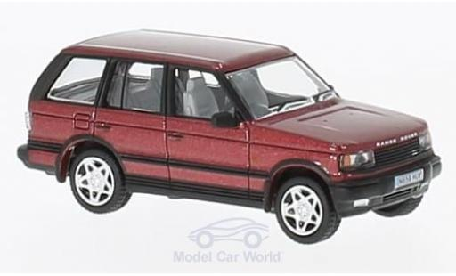Land Rover Range Rover 1/76 Oxford P38 metallise rouge miniature