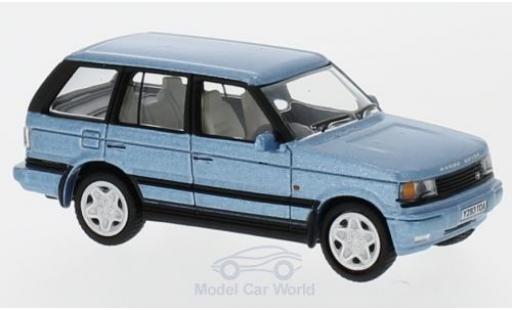 Land Rover Range Rover 1/76 Oxford P38 metallise bleue miniature