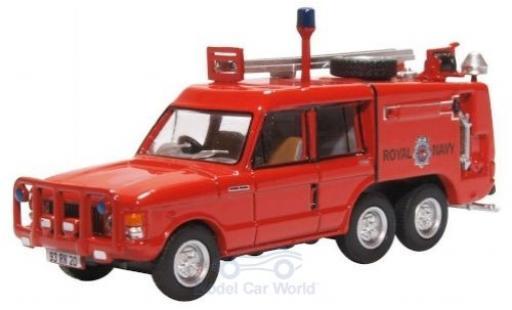 Land Rover Range Rover 1/76 Oxford TACR2 RHD Royal Navy miniature