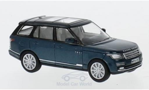 Land Rover Range Rover 1/76 Oxford Vogue metallise verte miniature