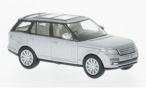 Land Rover Range Rover 1/76 Oxford Vogue grise RHD miniature