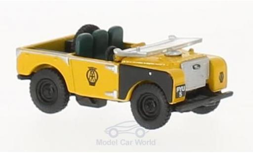 Land Rover Series 1 1/76 Oxford 80 AA Road Service Open Top miniature