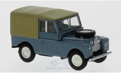 Land Rover Series 1 1/76 Oxford 88 bleue miniature