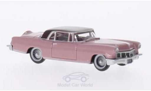Lincoln Continental 1956 1/87 Oxford MKII rose/rose miniature