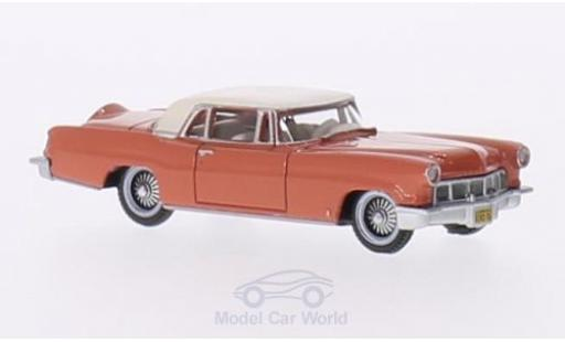 Lincoln Continental 1956 1/87 Oxford MKII rot/weiss modellautos