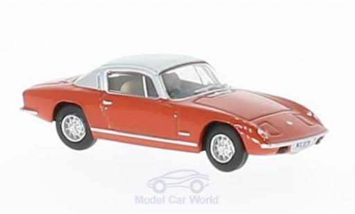 Lotus Elan 1/76 Oxford Plus 2 rot/silber modellautos