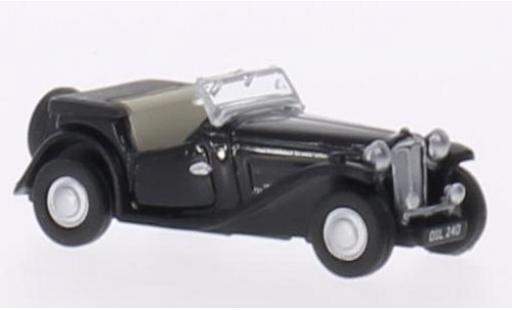 MG TC 1/76 Oxford black RHD diecast model cars