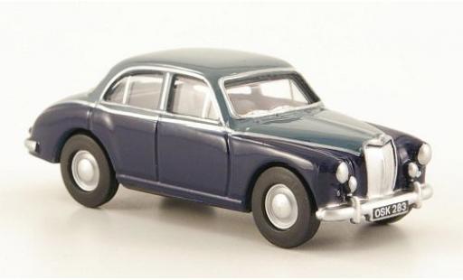 MG ZB 1/76 Oxford bleue/grise miniature