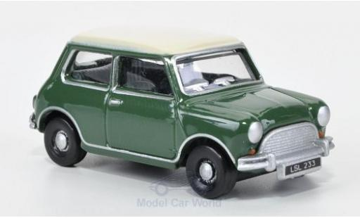 Mini Cooper S 1/76 Oxford verte/blanche 1965 miniature