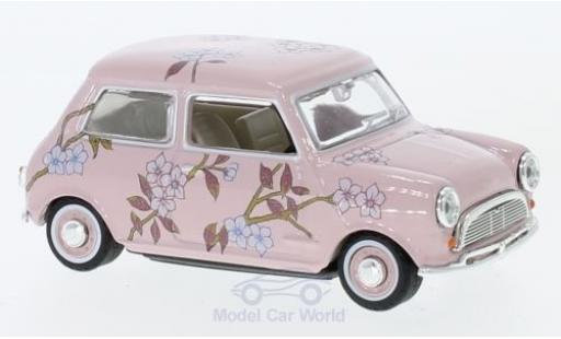 Mini Cooper S 1/43 Oxford pink/Dekor RHD diecast model cars