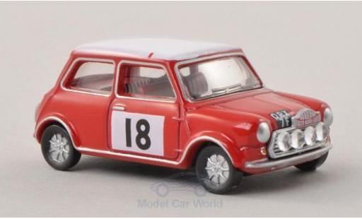 Mini Cooper 1/76 Oxford S MkII No.18 Rallye Monte-Carlo 1968 miniature