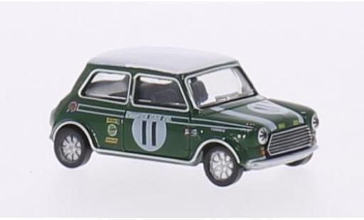 Mini Cooper 1/76 Oxford S MkII RHD No.11 Brands Hatch 1968 J.Rhodes miniature