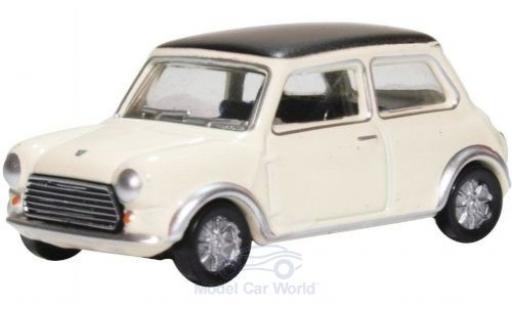 Mini Cooper 1/76 Oxford S MKII blanche/noire miniature