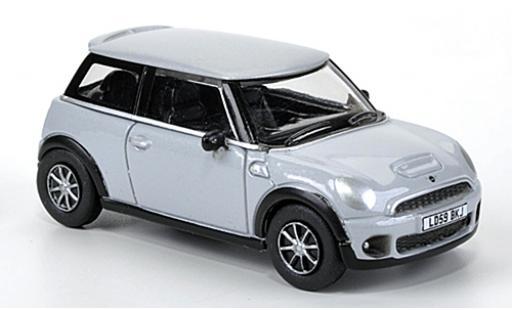Mini Cooper 1/76 Oxford grise miniature