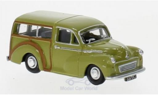 Morris Minor 1/76 Oxford Traveller oliv miniature
