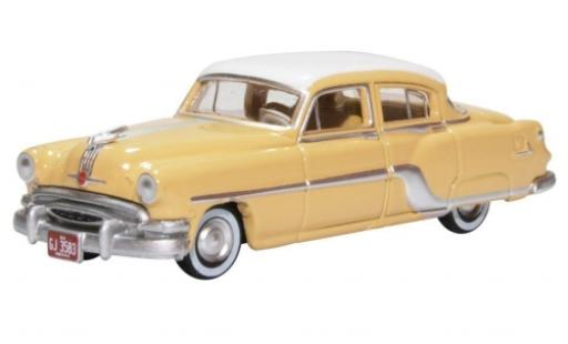 Pontiac Chieftain 1/87 Oxford 4-Door beige/blanche 1954 miniature