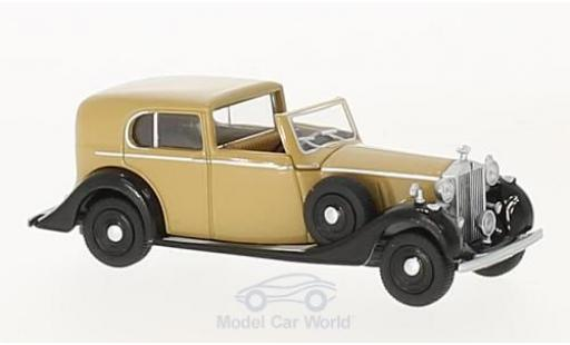 Rolls Royce Phantom 1/76 Oxford III beige/noire miniature