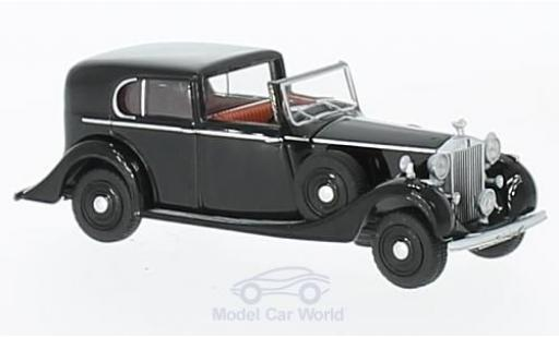 Rolls Royce Phantom 1/76 Oxford III noire miniature