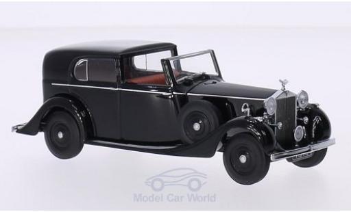 Rolls Royce Phantom 1/43 Oxford III Sedanca de Ville Mulliner noire RHD
