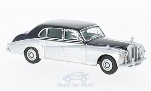 Rolls Royce Phantom 1/76 Oxford V dunkelbleue/grise miniature