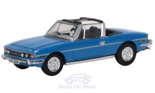 Triumph Stag 1/76 Oxford bleue miniature