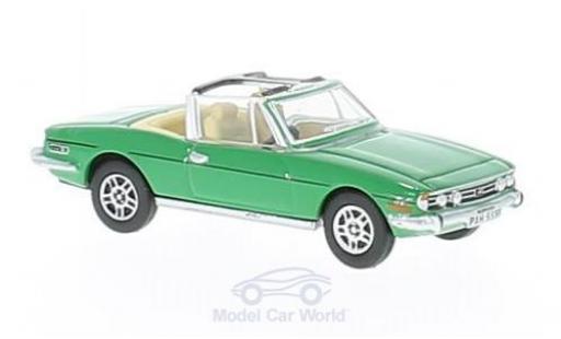 Triumph Stag 1/76 Oxford verte miniature