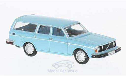 Volvo 245 1/76 Oxford Estate hellbleue miniature