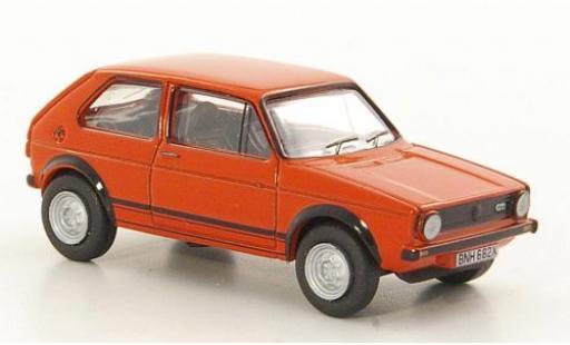 Volkswagen Golf 1/76 Oxford I GTI rouge miniature
