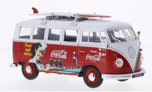 Volkswagen T1 1/24 Oxford Bus Coca-Cola avec Surfboard