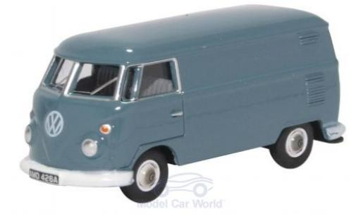Volkswagen T1 1/76 Oxford Van blue diecast model cars