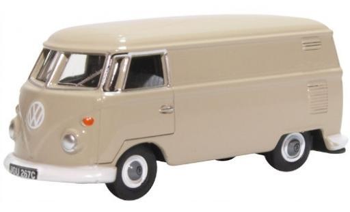 Volkswagen T1 1/76 Oxford Van grey fourgon diecast model cars