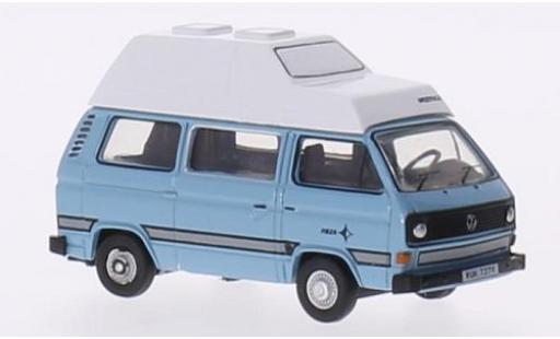 Volkswagen T2 1/76 Oxford 5 Joker bleue/blanche miniature