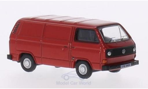 Volkswagen T2 A 1/76 Oxford 5 Van red diecast