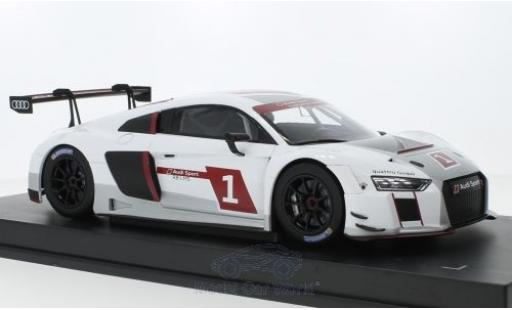 Audi R8 1/18 Paragon LMS 2017 Presentation Car miniature