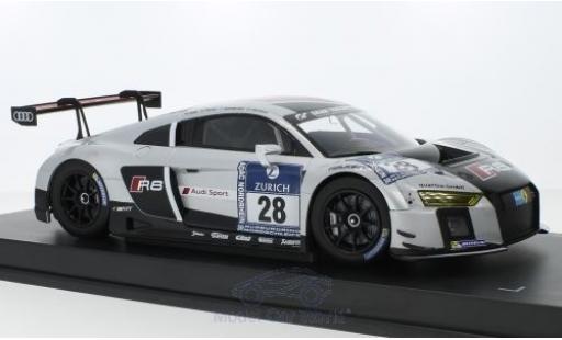 Audi R8 1/18 Paragon LMS No.28 Belgian Club Team WRT 24h Nürburgring 2015 C.Mies/E.Sandström/N.Müller/L.Vanthoor miniature