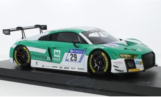 Audi R8 1/18 Paragon LMS No.29 Montaplast / Land-Motorsports 24h Nürburgring 2017 M.Winkelhock/C.Mies/C.de Phillippi/K.van der Linde modellino in miniatura