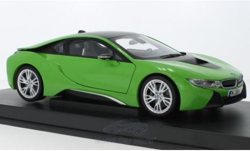 Bmw i8 1/18 Paragon green diecast model cars