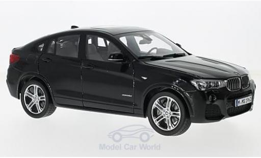 Bmw X4 F26 1/18 Paragon  metallise schwarz modellautos